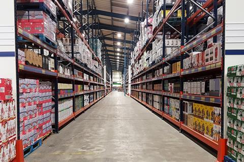 The wholesale food suppliers